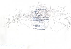 Click to enlarge: Difficult Drawing II: British Gas - Mozart 'Eine kleine Nachtmusik', K.525: II. Romance: Andante'