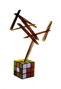 Click to enlarge: Magic Cube (Do-It-Yourself-Sculpture)